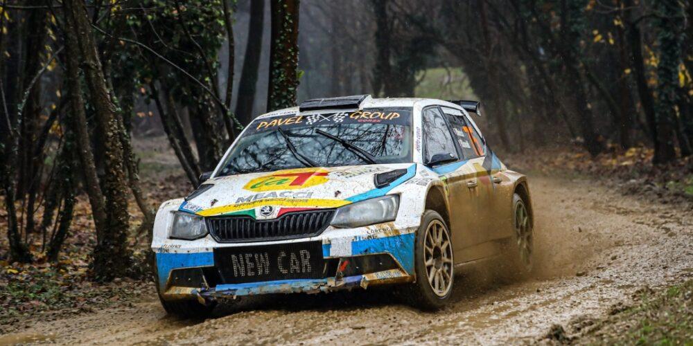 La T Tecnica Al Rally Del Ciocco Con L'equipaggio Moricci-Garavaldi