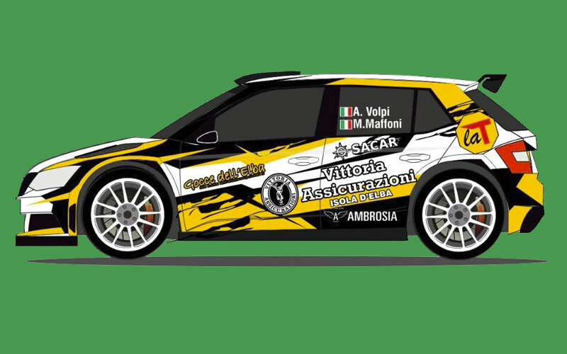 Due Auto Con La T Rossa Al Rally Delle Colline Metallifere