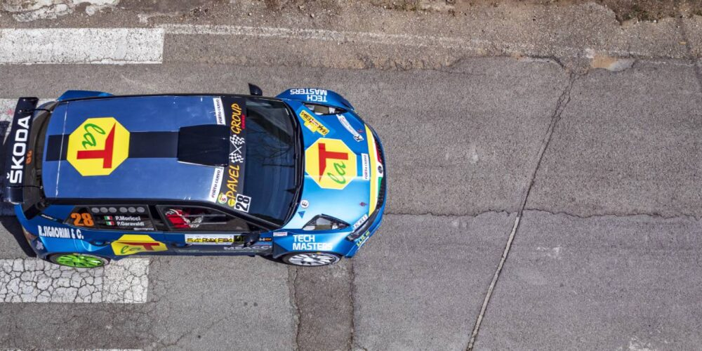 La T Tecnica Al Rally Della Valdinievole